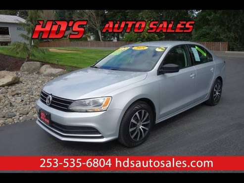 2015 Volkswagen Jetta S 6A for sale in PUYALLUP, WA