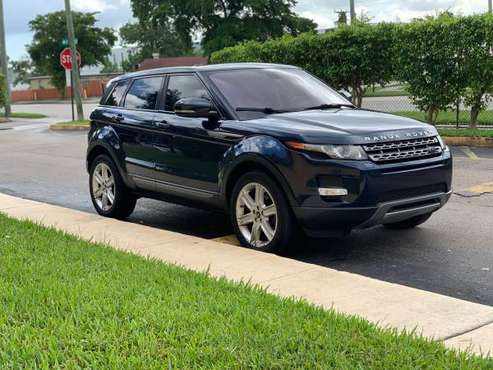 2013 RANGE ROVER EVOQUE! 100% APPROVAL!!! CALL RAFAEL for sale in West Palm Beach, FL