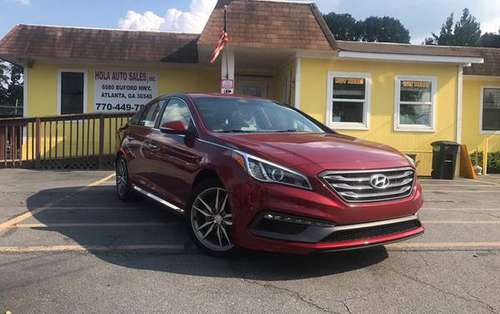 2015 HYUNDAI SONATA!!! $2200 DOWN!!!! 131K MILES!!! BUY HERE PAY HERE! for sale in Doraville, GA