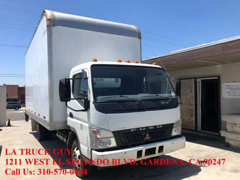 2006 MITSUBISHI FUSO FE84D ISUZU NPR 18 FT MOVING BOX TRUCK LIFTGATE for sale in Gardena, CA