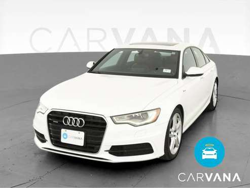 2015 Audi A6 3.0T Premium Plus Sedan 4D sedan White - FINANCE ONLINE... for sale in Manhattan Beach, CA