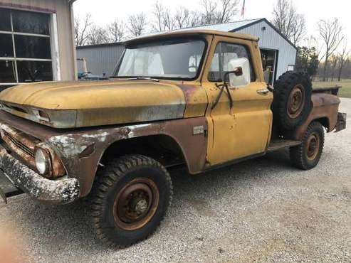 1966 Chevrolet K-20, 4x4, longbed stepside for sale in Corydon, KY