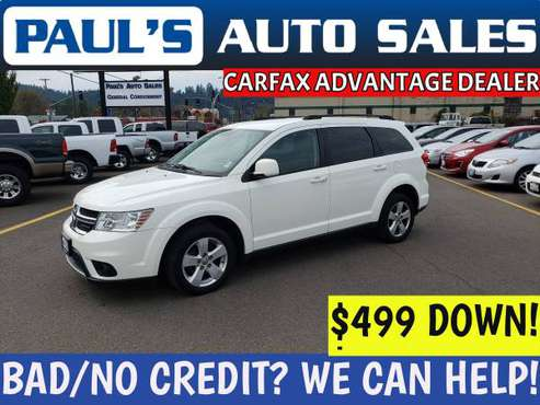 2012 DODGE JOURNEY SXT AWD *LOW MILES!*BAD CREDIT IS NO PROBLEM HERE!* for sale in Eugene, OR
