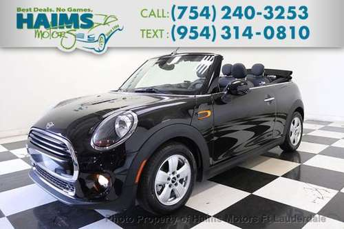 2019 Mini Convertible for sale in Lauderdale Lakes, FL