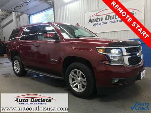 2018 Chevrolet Tahoe LT 4WD**One Owner**Nav**Front&Rear Heated Seats** for sale in Wolcott, NY