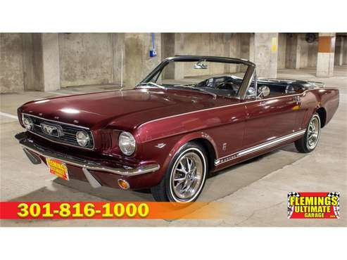 1966 Ford Mustang GT for sale in Rockville, MD