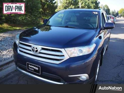 2013 Toyota Highlander SE 4x4 4WD Four Wheel Drive SKU:DS272220 for sale in Englewood, CO