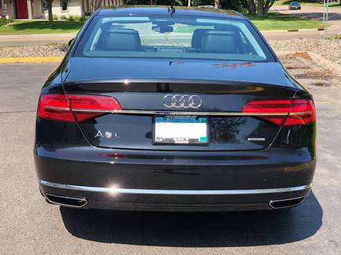 2015 Black Audi A8 L AWD V6 3.0T for sale in Saint Paul, MN