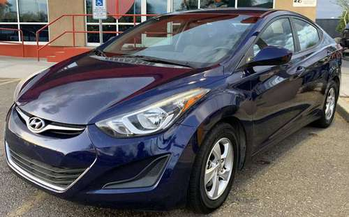 2014 HYUNDAI ELANTRA LIMITED SEDAN for sale in Phoenix, AZ