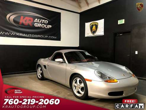 1998 PORSCHE BOXTER** 44639 MILES** 1 OWNER** WONT LAST for sale in Palm Desert , CA