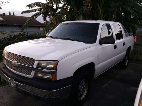 2004 chevy avalanche for sale in Makawao, HI