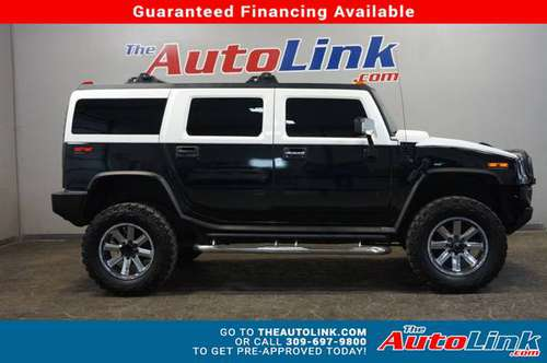 2004 *HUMMER* *H2* *Luxury* BLACK for sale in Bartonville, IL