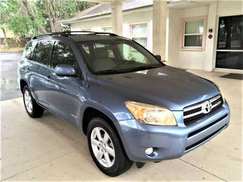 2007 TOYOTA RAV4 LIMITED LEATHER LOADED MOONROOF LOADED for sale in Sarasota, FL