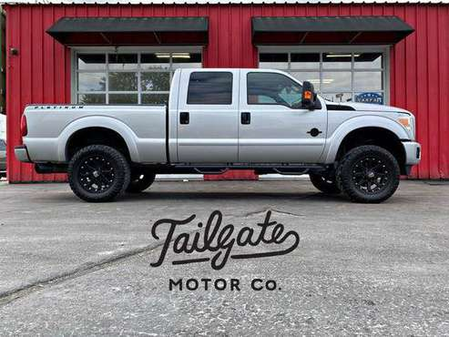 2015 Ford F250 Super Duty Crew Cab Platinum Pickup 4D 6 3/4 ft... for sale in Fremont, NE
