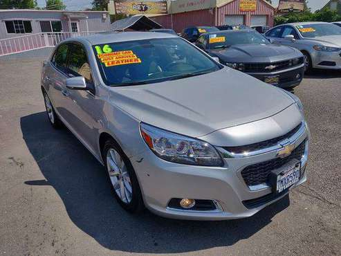 2016 Chevrolet Chevy Malibu Limited LTZ 4dr Sedan -YOUR JOB IS YOUR... for sale in Modesto, CA