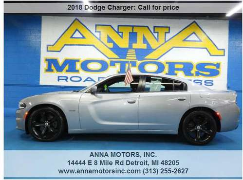 2018 DODGE CHARGER R/T HEMI,PAYMENT STARTING@$349*PER MONTH-STOP BY for sale in Detroit, MI