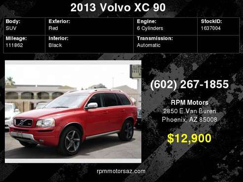 2013 Volvo XC90 R-Design for sale in Phoenix, AZ