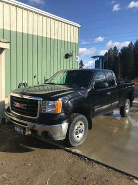 2010 GMC 2500HD for sale in Porthill, WA