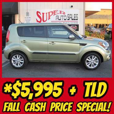 Fall Time Cash Sales Event - Nice Reliable 2013 KIA SOUL+ 4dr Wagon! for sale in Modesto, CA