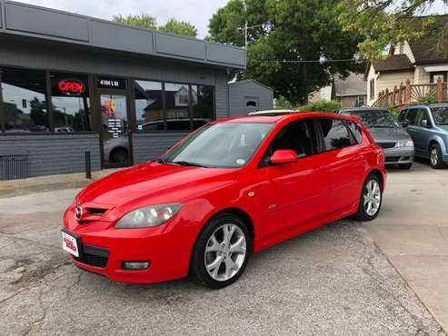 2008 Mazda 3S Sport Hatchback, Automatic, 120k Miles, Clean, Red for sale in Omaha, NE