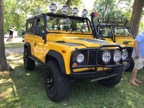 1995 YELLOW Land Rover NAS Defender90 for sale in New Canaan, NY