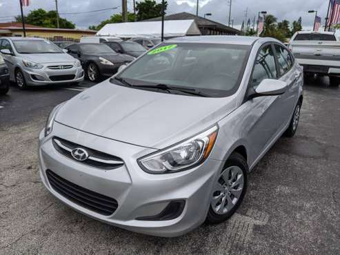 2017 HYUNDAI ACCENT - CALL ME - ONLINE APPROVAL AVAILABLE - cars &... for sale in Hallandale, FL