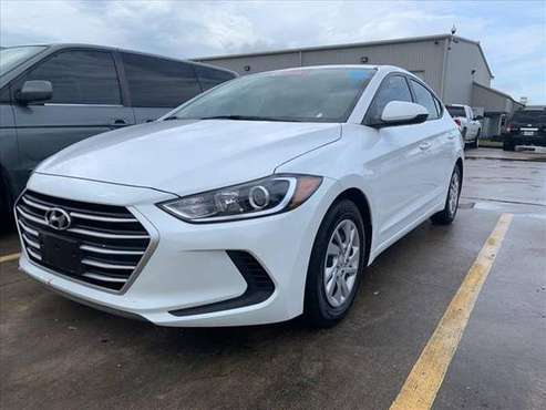 2018 Hyundai Elantra White *Priced to Go!* for sale in Baytown, TX