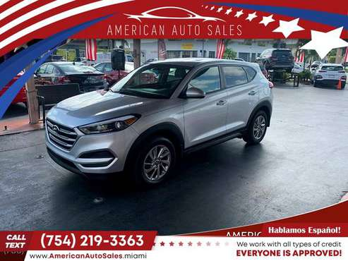 2017 Hyundai *Tucson* *SESUV* - cars & trucks - by dealer - vehicle... for sale in Hialeah, FL
