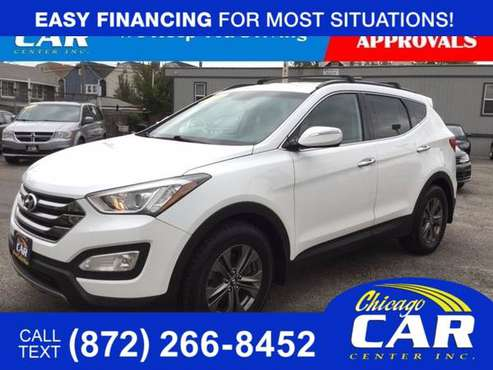 2015 Hyundai Santa Fe Sport 2.4L - cars & trucks - by dealer -... for sale in Cicero, IL