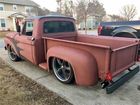 1962 Ford F100 for sale in Cadillac, MI
