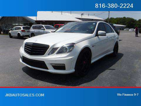 2012 Mercedes-Benz E-Class RWD E 63 AMG Sedan 4D Trades Welcome Financ for sale in Harrisonville, KS
