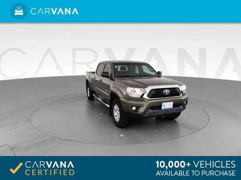 2015 Toyota Tacoma Double Cab Pickup 4D 6 ft pickup BROWN - FINANCE for sale in Fort Wayne, IN