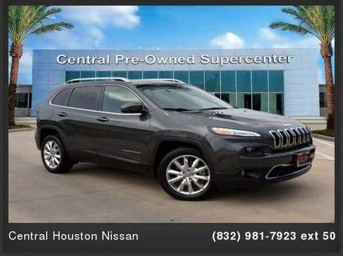 2015 Jeep Cherokee Limited 4dr SUV for sale in Houston, TX