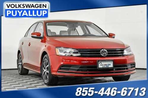 2017 Volkswagen Jetta 1.4T SE - cars & trucks - by dealer - vehicle... for sale in PUYALLUP, WA