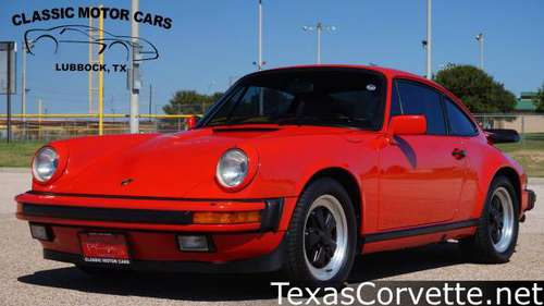 1986 Porsche 911 Carrera for sale in Lubbock, TX