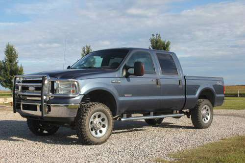 2006 Ford F350 4X4 XLT Powerstroke Diesel for sale in Howard, KS