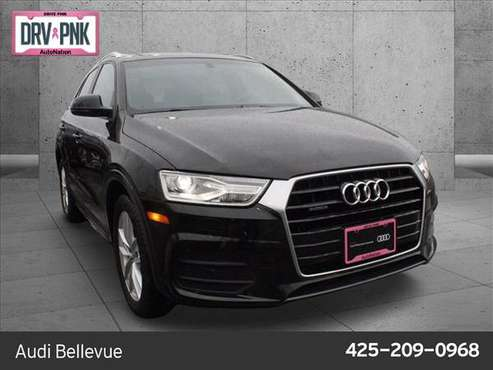 2017 Audi Q3 Premium AWD All Wheel Drive SKU:HR016161 - cars &... for sale in Bellevue, WA