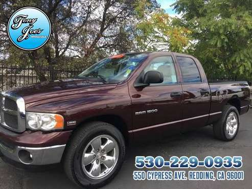 2004 Dodge Ram V-8 HEMI QUAD CAB ....126k ....MINT CONDITION CERTIFIED for sale in Redding, CA