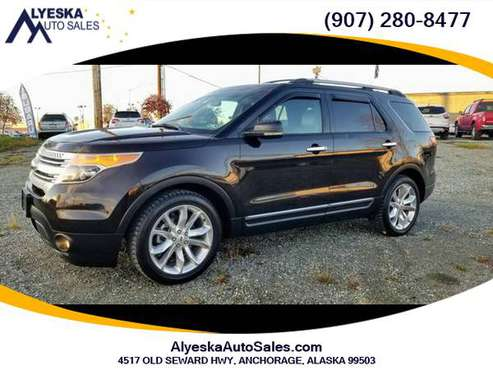2013 Ford Explorer - CERTIFIED PRE-OWNED VEHICLE! - cars & trucks -... for sale in Anchorage, AK