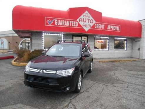 2014 MITSUBISHI OUTLANDER GT AWD for sale in Oak Park, MI