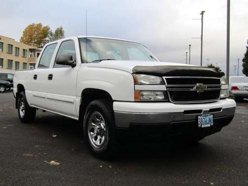 2006 Chevrolet Silverado 1500 Crew Cab 4x4 4WD Chevy LS Pickup 4D 5 3/ for sale in Gresham, OR