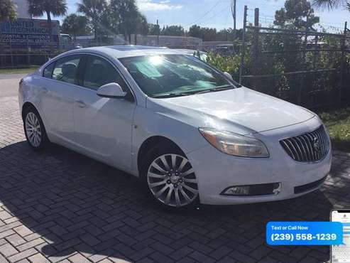 2011 Buick Regal CXL - Lowest Miles / Cleanest Cars In FL for sale in Fort Myers, FL