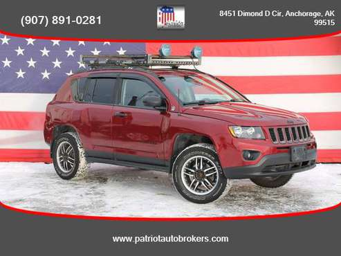 2014 / Jeep / Compass / 4WD - PATRIOT AUTO BROKERS - cars & trucks -... for sale in Anchorage, AK