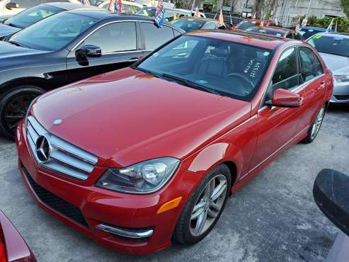 2013 MERCEDES C250 SPORT MODEL / NO CREDIT CHECK $2995 down for sale in south florida, FL