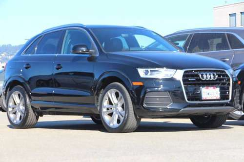2016 Audi Q3 Black Great Deal! for sale in Oakland, CA