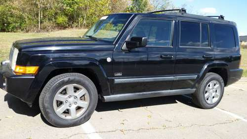 07 JEEP COMMANDER SPORT 4WD- 3RD ROW, CLEAN/ SHARP SUV, LOADED, MUS C for sale in Miamisburg, OH