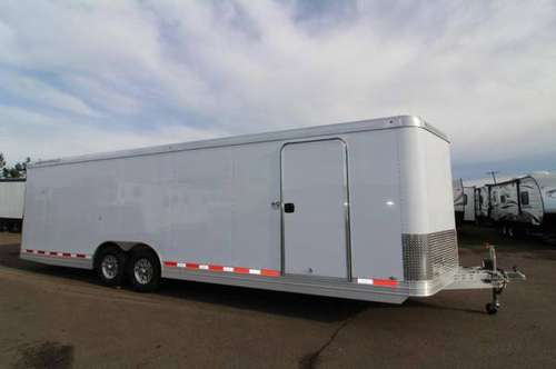 NEW 2019 Featherlite 4926 28' Enclosed Car Trailer - All Aluminum - Re for sale in Albany, OR