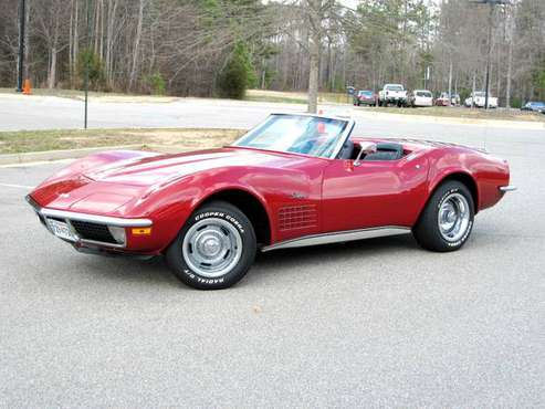 1971 Corvette Stingray Convertible for sale in richmond, VA, VA
