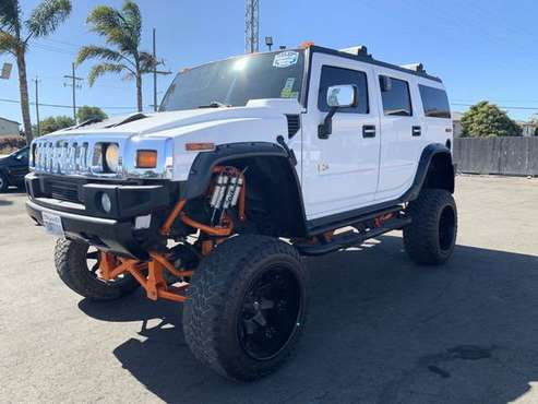 2003 *HUMMER* *H2* *4dr Wagon* White for sale in Salinas, CA
