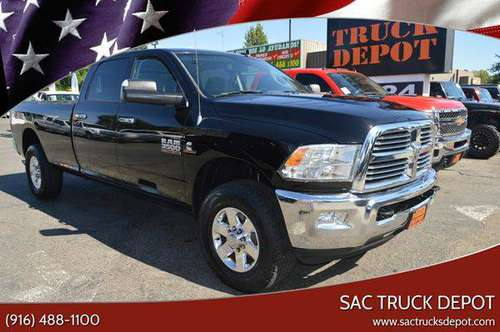 2013 RAM Ram Pickup 3500 Big Horn 4x4 4dr Crew Cab 8 ft. LB SRW... for sale in Sacramento , CA